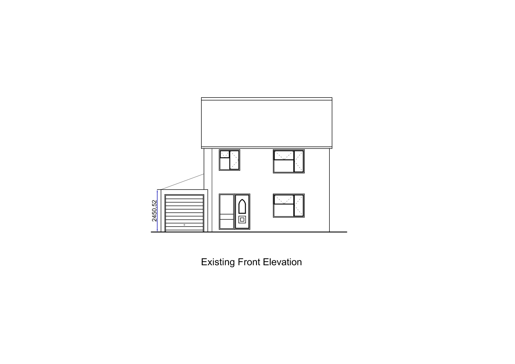 Sample Front Elevation Training : Ah building design sample plans