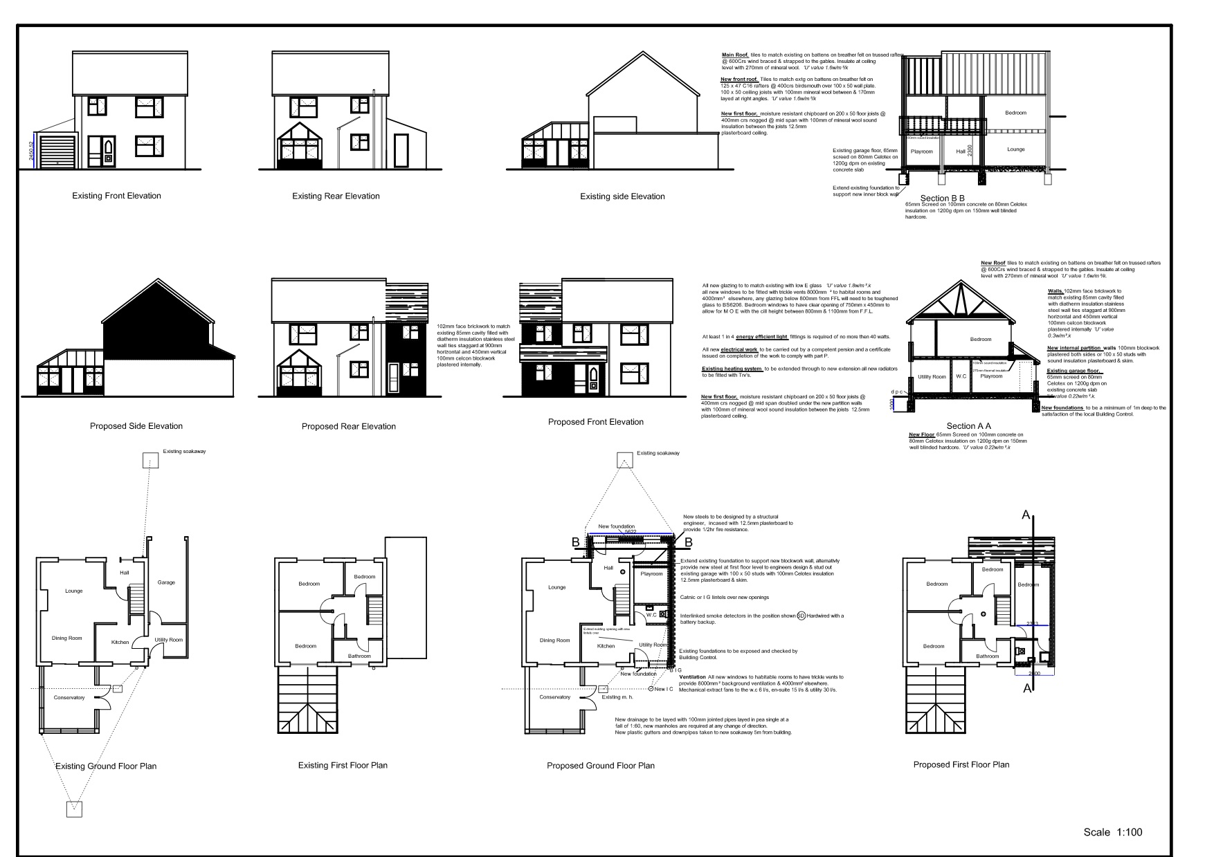 Ah building design sample plans for House construction plans