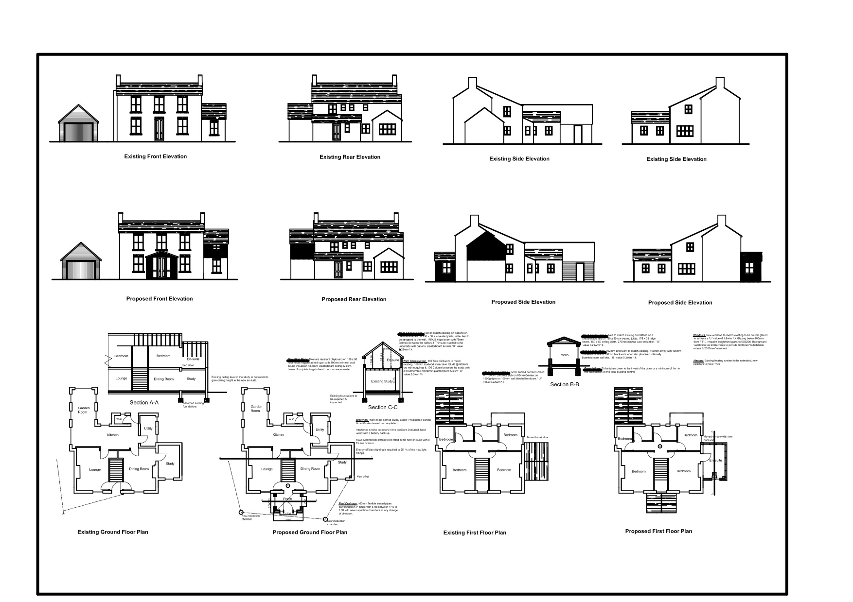 The 45 best complete house plan sample building plans for Sample of house plan